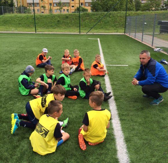 Treningi piłki nożnej dla dzieci